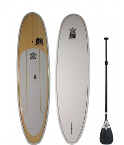9'8 SUP Angel White + Rame + Livraison