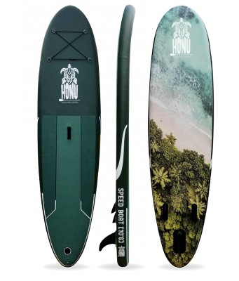 10'0 SUP Turtle Blue + Paddle + Delivery included